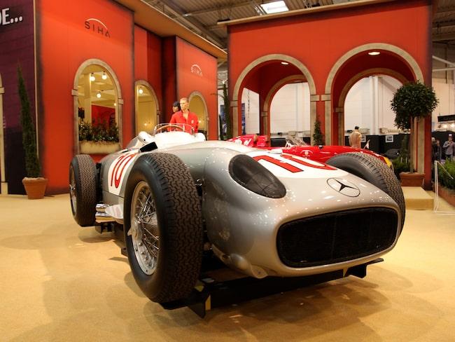 Nummer 3 på listan – Mercedes W 196.