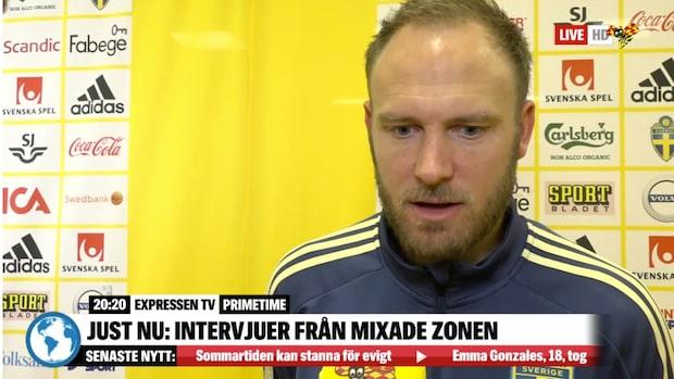 """Andreas Granqvist: """"Viktigt att vi inte tar skiten"""""""