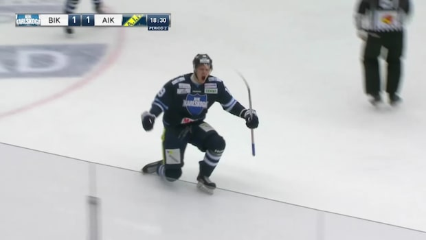 Karlskoga tog viktiga poäng mot AIK