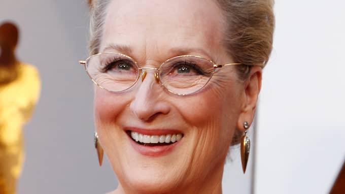 Meryl Streep och Tommy Körberg festade på Hotel Rival i Stockholm. Foto: MIKE NELSON / EPA / TT / EPA TT NYHETSBYRÅN
