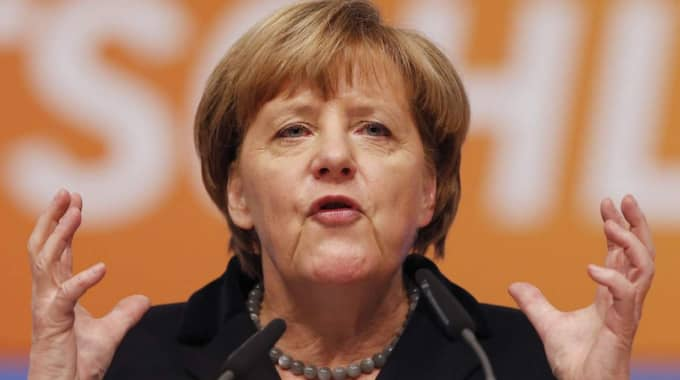 Tysklands förbundskansler Angela Merkel. Foto: Michael Probst