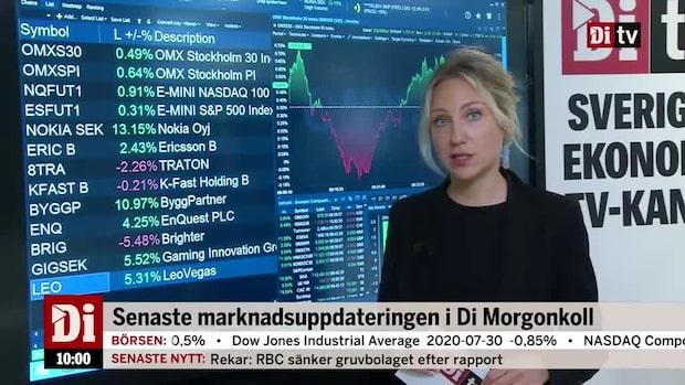Di Marknadskoll: Nokia rusar på rapport - lyfter Ericsson