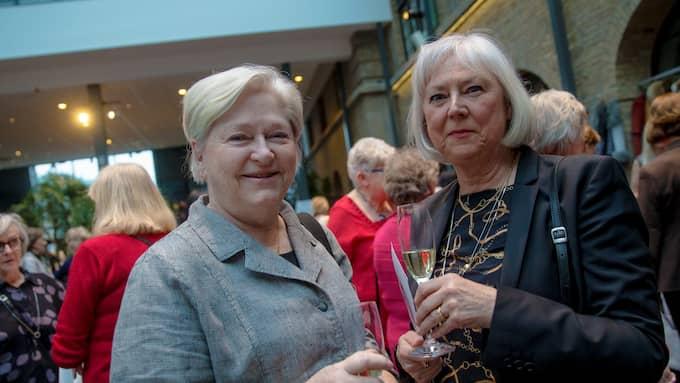 Ulla-Beth Kroon, 69, Uddevalla och Margareta Nabrink, 70, Strömstad. Foto: HENRIK JANSSON