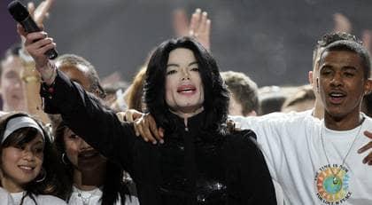 EN AV DE STÖRSTA. Michael Jackson var framgångssagan och tragedin i en och samma tunna gestalt. Foto: AP