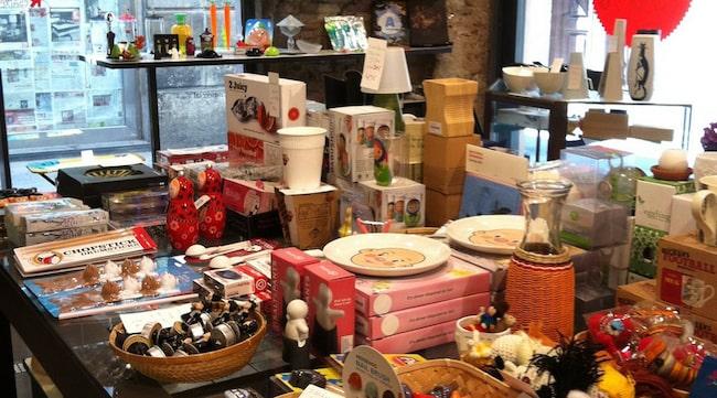 BARCELONA. La Comercial är den trendiga inredningsbutiken med ett eget urval av bland annat Fornasettiprodukter.