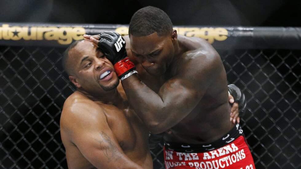 Anthony Johnson och Daniel Cormier möttes i UFC 178. Foto: John Locher / AP TT NYHETSBYRÅN