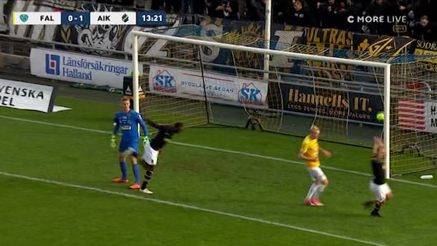 Goitom ger AIK drömstart - nickar in 1-0