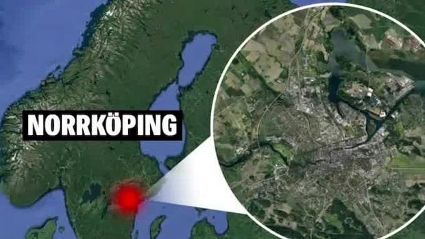 Larm om smäll i Norrköping