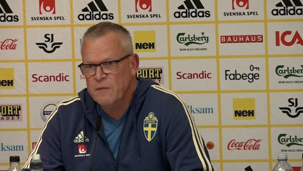Janne Anderssons besked om Nilsson Lindelöfs skada