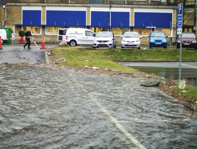 MYCKET VATTEN. FN:s klimatpanel menar att kustområden löper extra stor risk för översvämningar i framtiden. Foto: Anders Ylander