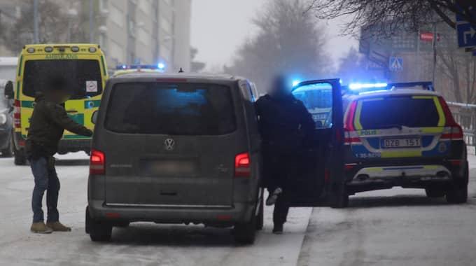 För att avstyra ett brott ska polisen ha avlossat skott. Foto: Janne Åkesson