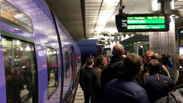 Helt stopp på södra stambanan mellan Lund och Eslöv
