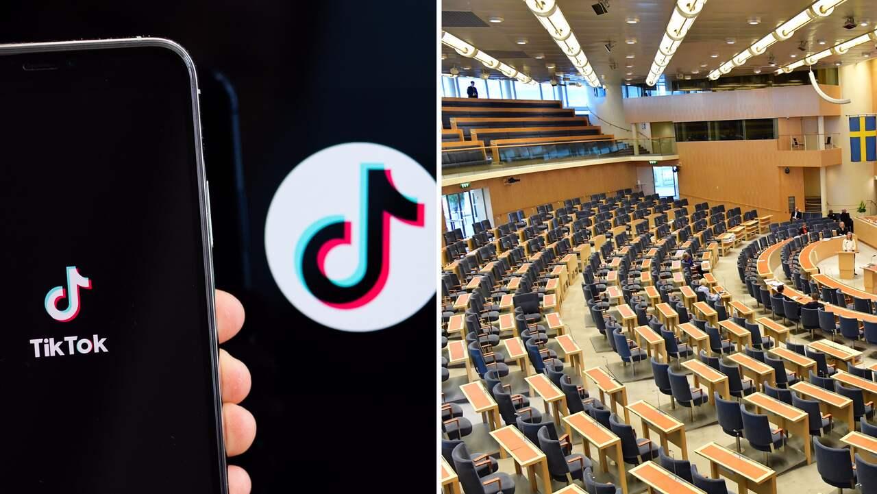 Svenska politiker vill införa Tiktok-förbud på jobbet