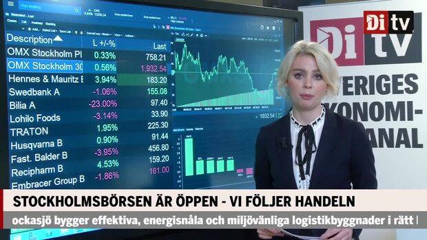 Di Marknadskoll: Stockholmsbörsen på plus - kurskollaps i Qviberg-ägda Bilia