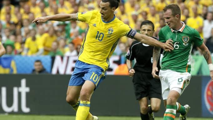 Sverige–Irland slutade 1–1. Foto: Etienne Laurent / Epa / Tt / EPA TT NYHETSBYRÅN