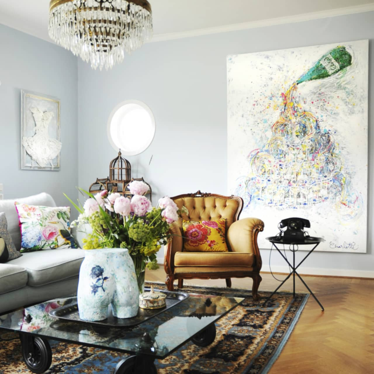 Vardagsrum Рs̴ f̴r du det att se dyrare ut