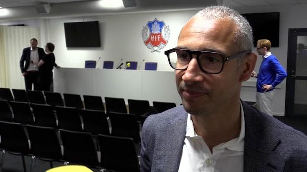"""Henrik Larsson: """"Överraskande att frågan kom nu"""""""