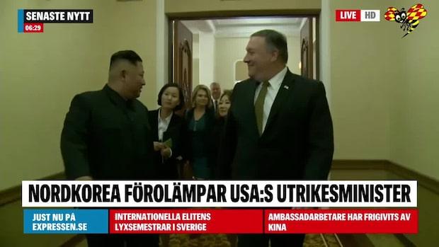 Nordkorea hånar USA:s utrikesmininster