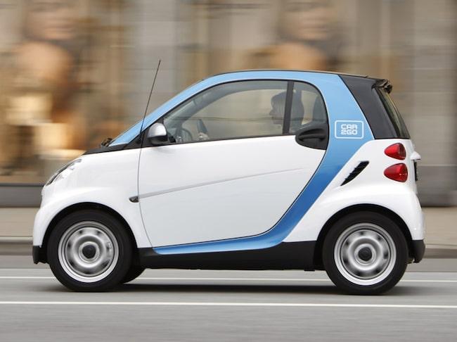 Car2Go. Hämta bilen enkelt med en app.