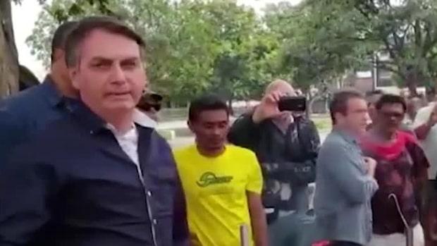 Brasiliens president Jair Bolsonaro Twitterinlägg togs bort – bröt mot reglerna