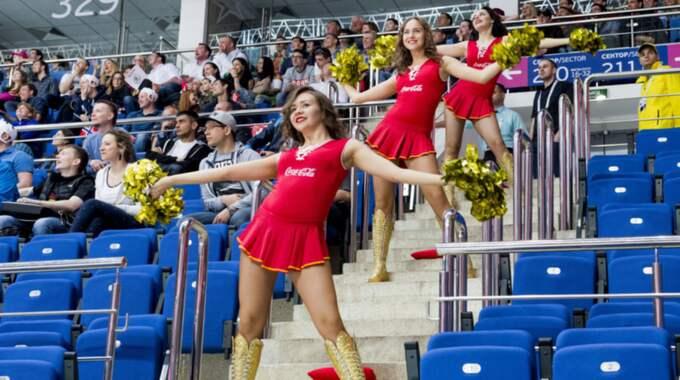 Hockey-VM:s cheerleaders Foto: Ludvig Thunman / BILDBYRÅN