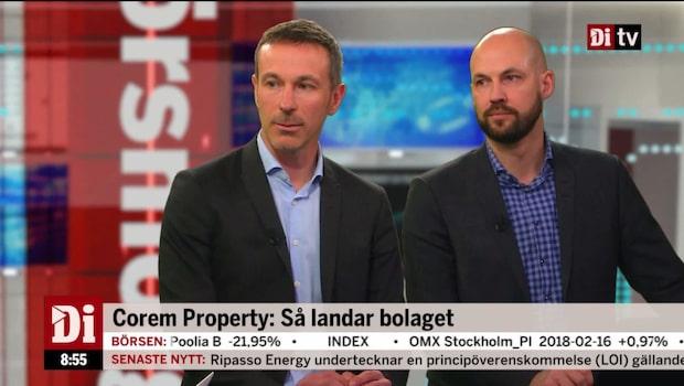 Corem Property ökar utdelningen