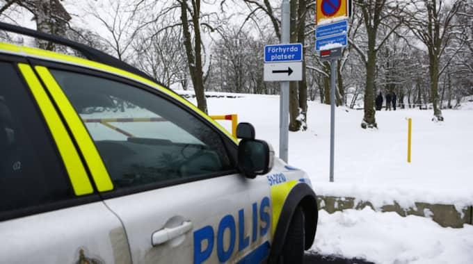 Den döda personen hittades på Saltholmen. Foto: HENRIK JANSSON