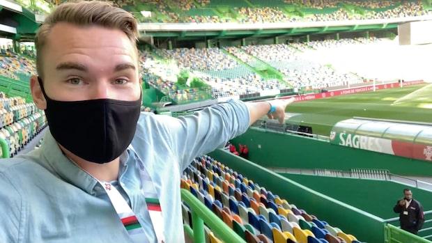 Vlogg: Bakom kulisserna på Sveriges Nations League-äventyr
