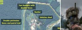 Nya satellitbilder visar rysk militär  upprustning – 30 mil från Sverige