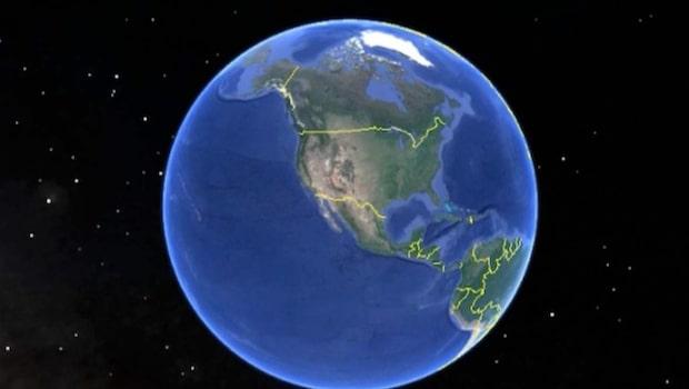 Gränsen mot Mexiko