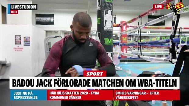 Förlust för Badou Jack – hade chans på WBA-titeln