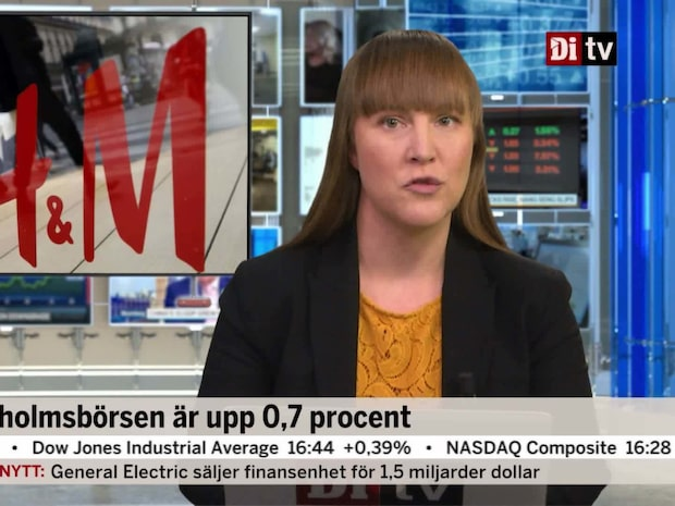 Di Nyheter 17.00 16 november - Stefan Persson tankar aktier i H&M