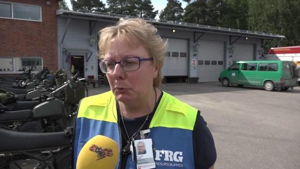 """Eva-Lotta ansvarar för frivilliga: """"Man blir ödmjuk och berörd"""""""