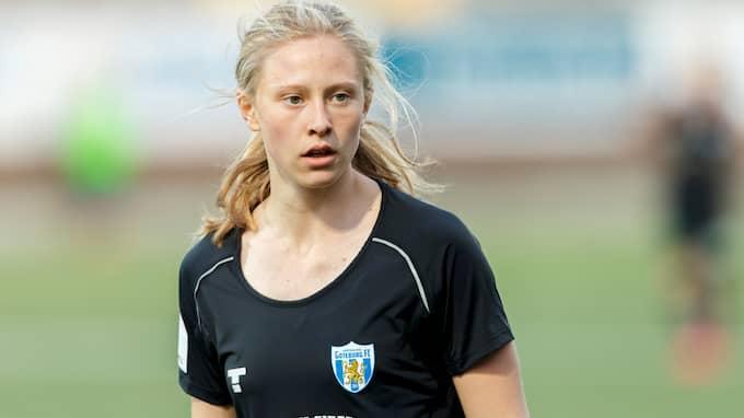 Rebecka Blomqvist imponerade mot Linköping. Foto: PER FRISKE / BILDBYRÅN