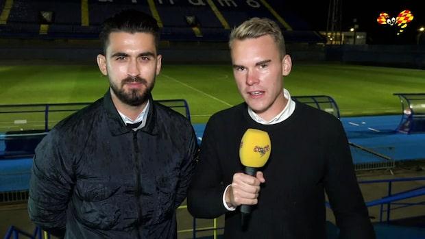 """""""Han kommer fortsätta hålla Sebastian Larsson på bänken"""""""