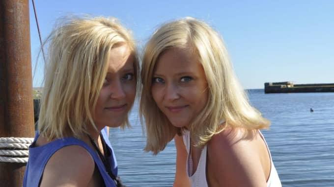 Malin och Sofie.
