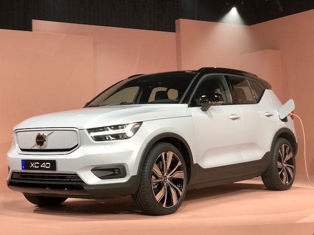 Se första bilderna på Volvos nya eldrivna bil XC40