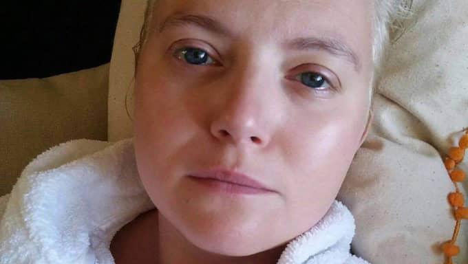Natasha Davin drabbades av cancer hösten 2013. Foto: Privat