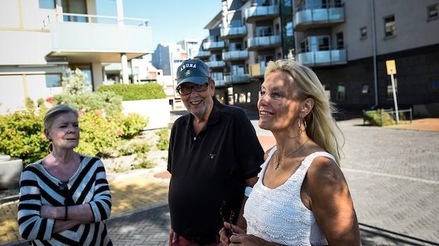 Boende i Västra hamnen i Malmö har fått nog av bilkaoset