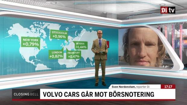 Volvo Cars kan noteras före årsskiftet