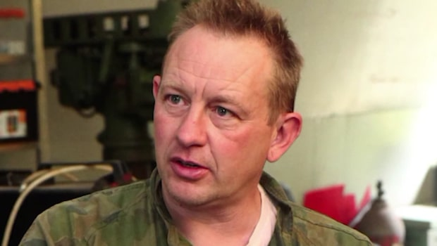 Fängelsevakt inledde relation med Peter Madsen