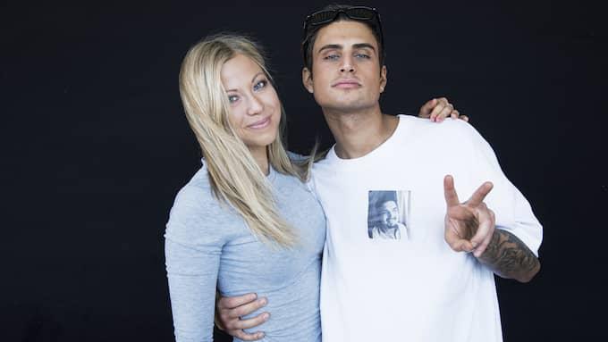Sigrid Bernson och Samir Badran är på ännu en semester ihop. Foto: OLLE SPORRONG
