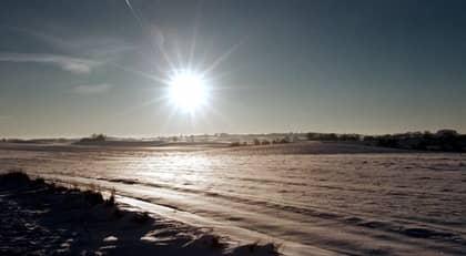 I kväll inträffar vintersolståndet och sedan blir det ljusare för var dag. Foto: Lasse Svensson