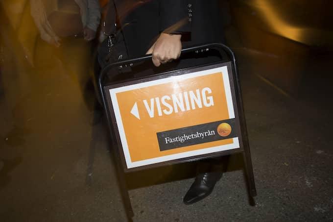 Under oktober störtdök antalet lägenhetsaffärer i Stockholms innerstad, rapporterar Svenska Dagbladet. Foto: FREDRIK SANDBERG/TT / TT NYHETSBYRÅN