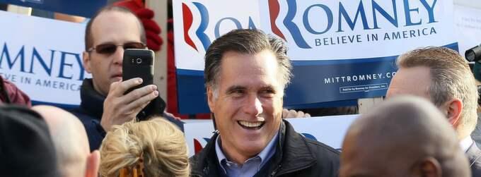 Mitt Romney har fått hård kritik både från både motkandidater och demokrater efter ett uttalande han gjorde på måndagen. Foto: Justin Sullivan
