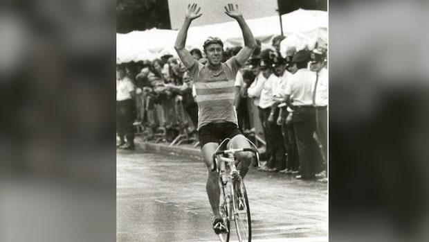Bernt Johansson dammar av vinnarcykeln