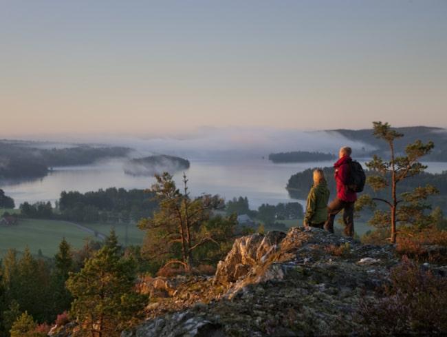 <span>På Pilgrimsleden i Dalsland har pilgrimer vandrat genom århundradena, på väg mot Nidaros (Trondheim) i Norge.</span>