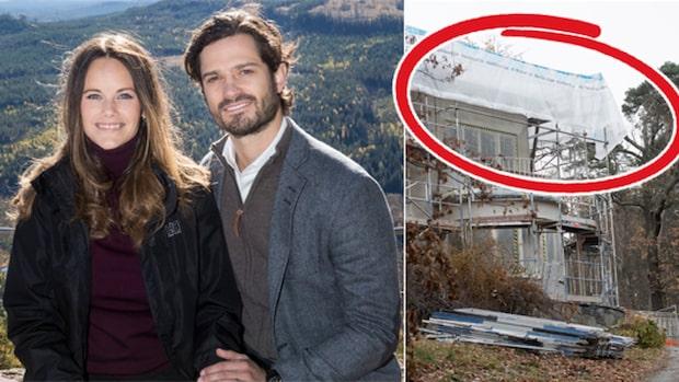 Här byggs Sofias och Carl Philips drömhus