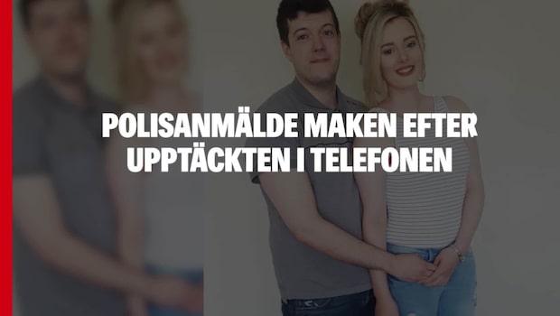 Polisanmälde maken efter upptäckten i telefonen