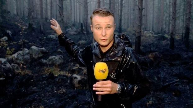 """Branden i Fågelsjö under kontroll: """"De jublar här i skogen"""""""